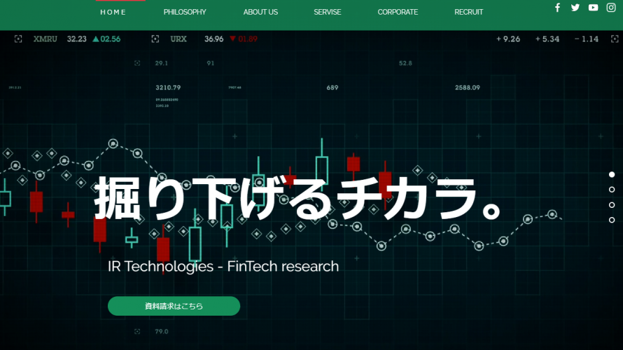 IR technologies(アイアール テクノロジーズ)